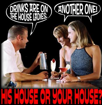 DRINKSonthehouseladies